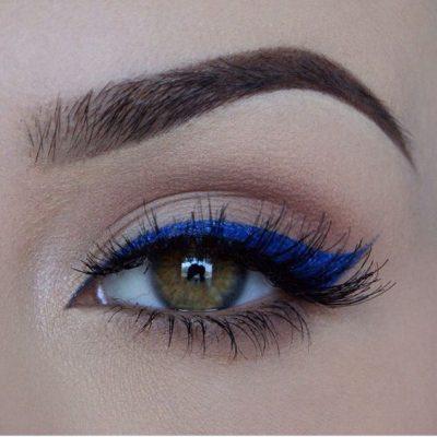 Eye Makeup Using Kohl