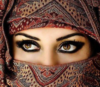 eye makeup with kohl