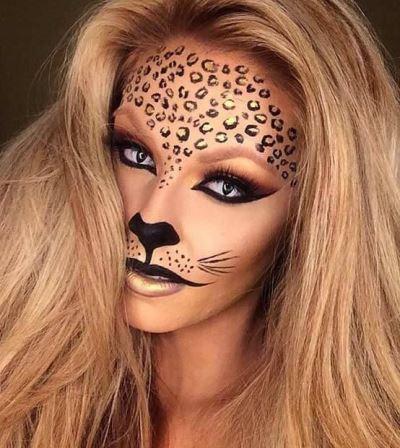Halloween Cat Face Makeup Tutorial