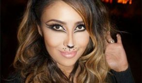 How To Do Cat Face Makeup For Halloween