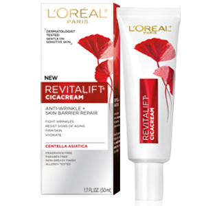 LOreal Paris Revitalift Cicacream Anti-Aging Face Moisturizer