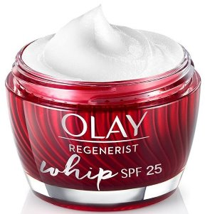 Olay Light Face Moisturizer Cream, Oil Free, Regenerist Whip