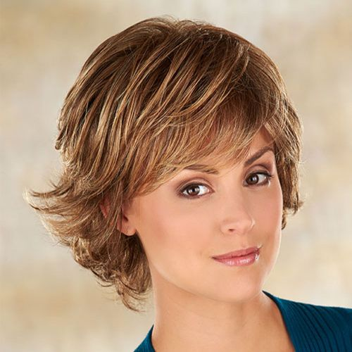 Flipped-Up Front Haircut